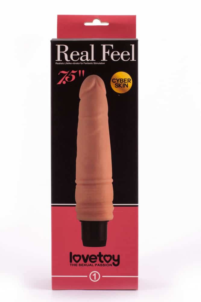 SF. Вибратор Real Feel cyberskin 203,6 см