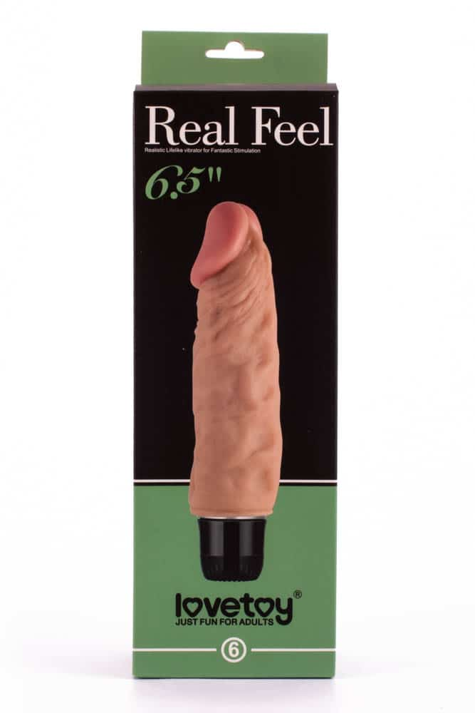 SF. Реалистический вибратор 16.5см х 4 см (Reel Feel Vibrator Flesh 65...